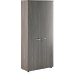 Armoire haute Easy Select 800 x 350 x 1 800 mm Imitation cèdre