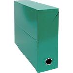 Boîte d'archivage Exacompta Iderama 33 x 9 x 25 cm Vert foncé 5 Unités