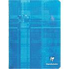 Petit Cahier   Clairefontaine   17 x 22 cm   Grands carreaux   48 pages piqué   Coloris assortis