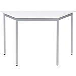 Table de réunion modulaire trapèze Domino 120 x 60 x 74 cm Blanc