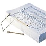Reliure d'archive FAST Standard 100 Unités