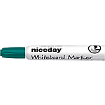 Marqueur pour tableau blanc Niceday WCM1 5 Biseauté 5 mm Vert