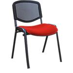 Chaise de réunion Mesh Rouge