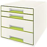 Module à tiroirs Leitz WOW 28,7 x 36,3 x 27 cm Vert