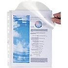 Pochettes perforées Exacompta 5502E A4 Transparent