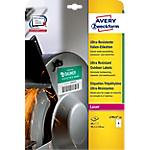 Étiquettes Avery Ultra Résistantes Blanc 40 étiquettes