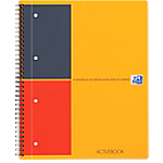 Cahier International OXFORD International A4+ Ligné Orange