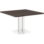Table carrée Gautier Office Xenon 115 x 115 cm Imitation chêne royal