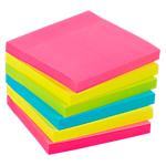 Notes adhésives Office Depot 76 x 76 mm Assortiment   6 Unités de 90 Feuilles