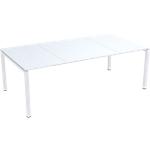 Table de réunion 4 pieds Paperflow EasyOffice Blanc 2200 x 1140 x 750 mm