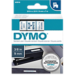 Ruban d'étiquettes DYMO D1 40914 9 mm x 7 m Bleu, blanc