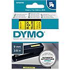 Ruban d'étiquettes DYMO D1 40918 9 mm x 7 m Noir, jaune