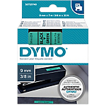 Ruban d'étiquettes DYMO D1 40919 9 mm x 7 m Noir, vert