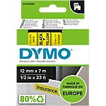 Ruban d'étiquettes DYMO D1 45018 12 mm x 7 m Noir, jaune