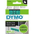 Ruban d'étiquettes DYMO D1 45019 12 mm x 7 m Noir, vert