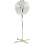 Ventilateur de sol ID Branding 50 W 125 (H) cm 3250 g Blanc, vert