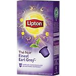 Capsules de thé noir Finest Earl Grey Lipton 10 Unités