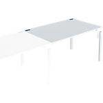 Bureau droit juxtaposable 4You 140 x 80 x 72 cm Blanc
