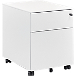 Caisson mobile 2 Gautier Office 540 x 540 mm Blanc