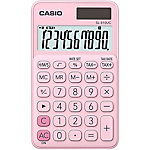 Calculatrice de bureau Casio SL 310UC PK Chiffres Rose