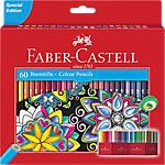 Crayons de couleur Faber Castell Accordéon   60 Unités