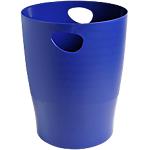 Corbeille à papier Exacompta Classic 453104D Bleu 26,3 x 26,3 x 33,5 cm