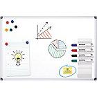 Tableau blanc Office Depot Standard Acier Laqué Magnétique 120 x 90 cm