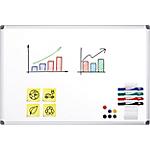 Tableau blanc Office Depot Superior Émail Magnétique 150 x 100 cm