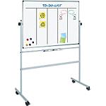 Tableau blanc Office Depot Mobile Acier Laqué Magnétique 150 x 120 cm