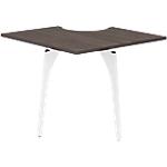 Extension pour table de réunion Gautier Office Xenon 90 x 90 x 74 cm Imitation Chêne