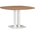Table ronde Gautier Office Xenon 115 (l) x 115 (P) x 75 (H) cm Imitation merisier italien