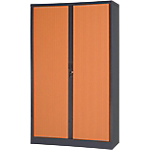 Armoire portes à rideaux Realspace Tôle d'acier 7