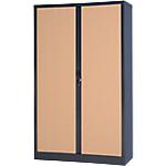 Armoire portes à rideaux Realspace Realspace PRO Tôle d'acier 7
