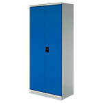 Armoire basse Acier Porte battante 920 x 420 x 1000 mm Realspace L. 92 cm