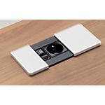Boîte à brancher Gautier Office 500068 Noir, Blanc 20 (L) x 9 (P) x 9 (H) cm Hauteur pas Réglable