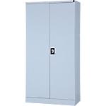 Armoire haute  à portes battantes Acier Porte battante 180 (H) x 92 (l) x 42 (P) cm Realspace