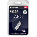 Clé USB Integral ARC 64 Go Argenté