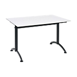 Table multi usages Cafétéria 1 200 x 800 mm Gris