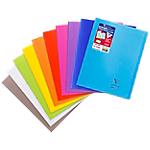 Cahier grands carreaux piqué Polypro Clairefontaine Koverbook A4+ Coloris aléatoire 96 Pages   48 Feuilles