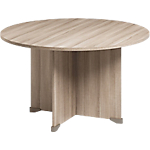 Table de réunion Jazz+ 1200 x 740 mm Imitation chêne