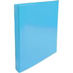 Classeur à 2 anneaux Exacompta 2 anneaux 30 mm Carton rembordé papier pelliculé A4 Bleu clair