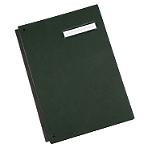 Parapheur extensible Papier 24 Niceday 29,7 (H) x 24,2 (l) x 3 (P) cm A4 Vert   24 Feuilles