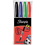 Marqueurs permanents Sharpie Sharpie M15 Ogive Assortiment   4