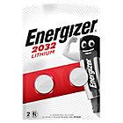 Piles bouton Energizer CR2032 2 Unités