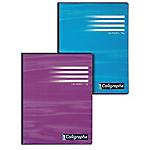 Cahier grands carreaux broché Calligraphe Ligne 7000 A4 Coloris aléatoire 192 Pages   96 Feuilles