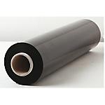 Bobines de film étirable Opaque Noir 450 mm x 300 m 17 µm   6 Rouleaux