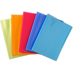 Protège documents soudé Exacompta Linicolor Polypro 40 Pochettes A4 Assortiment