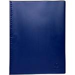Protège documents soudé Exacompta Vega PVC 20 Pochettes A4 Bleu
