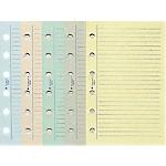 Recharges pour organiseur Exacompta Exatime 17 2018 17,2 (H) x 10,5 (l) cm Assortiment