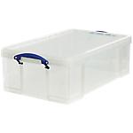 Boîte de rangement Really Useful Box 50 50 litres 71 x 44 x 23 cm Transparent